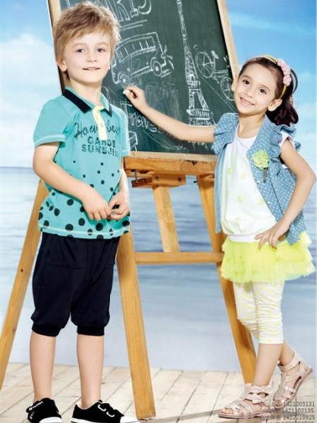 虹猫蓝兔童装产品图片