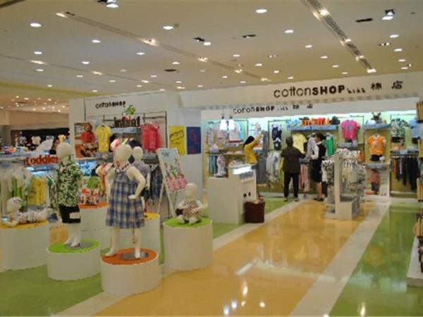 棉店寶貝童裝店鋪展示