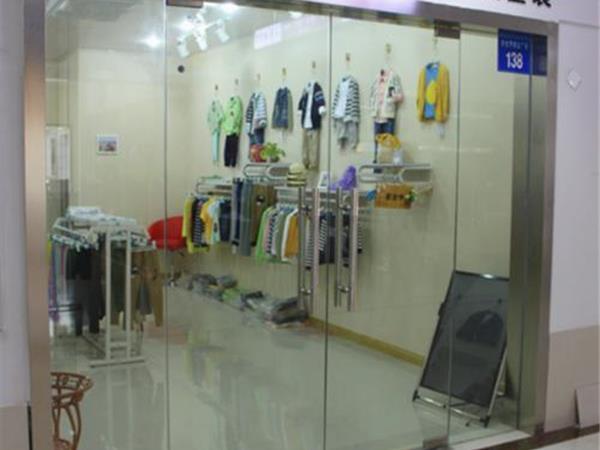 小南瓜童装店铺展示