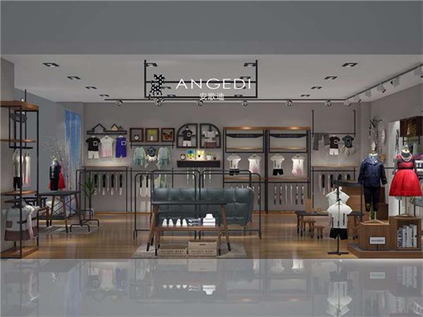 安歌迪童装店铺展示