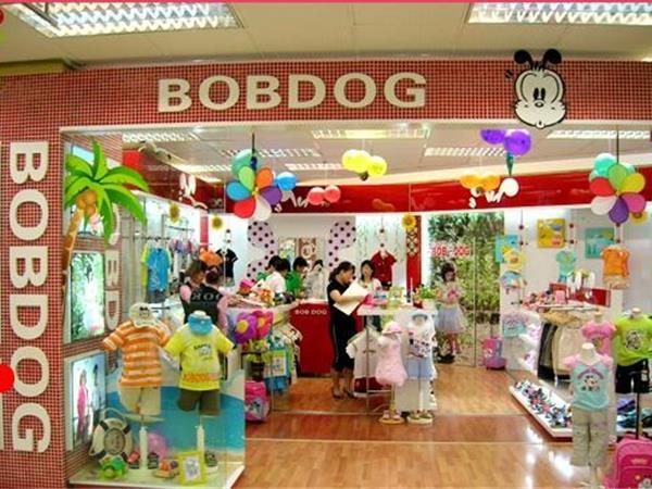巴布豆童装店铺展示