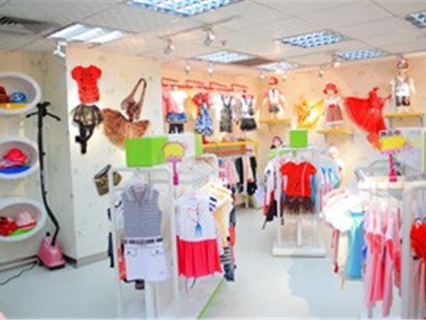 阳光衣派童装店铺展示