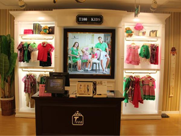 T100童装店铺展示
