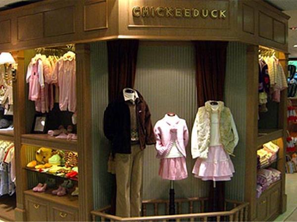 CHICKEEDUCK童裝店鋪展示