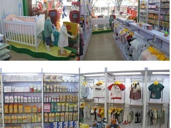 多米小熊童裝店鋪展示