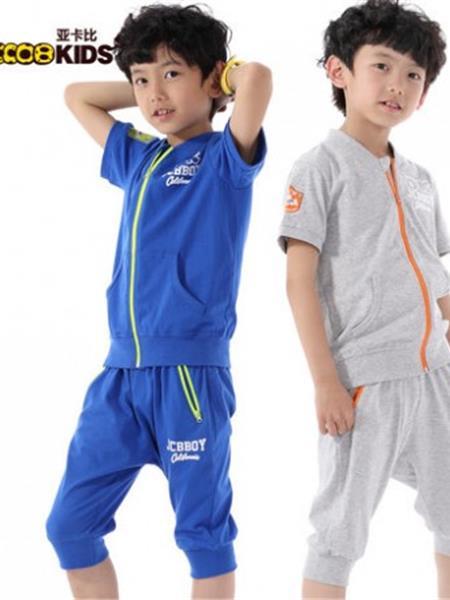 亚卡比童装产品图片