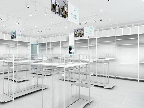 五岳童盟童装店铺展示