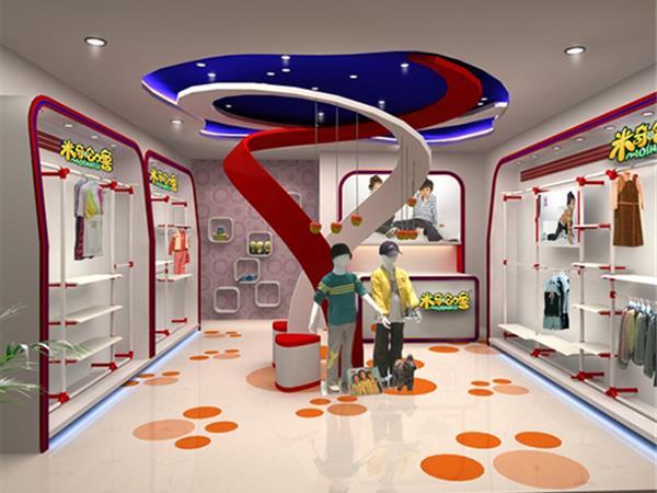 米奇哈噜童装店铺展示