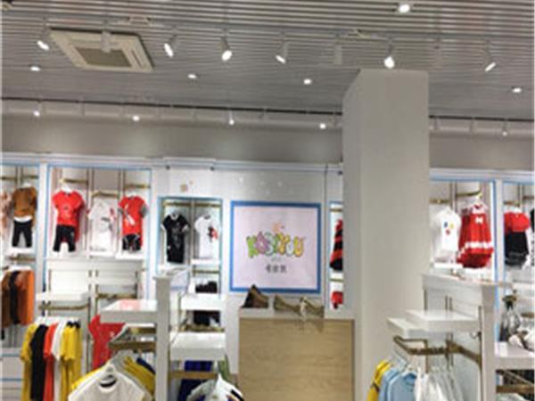 拉斐贝贝童装店铺展示