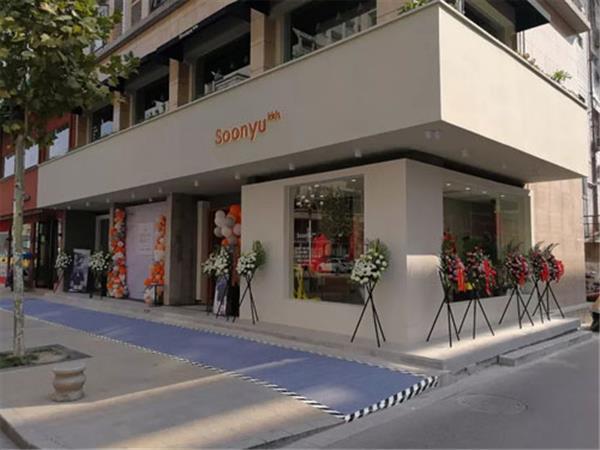 桑語童裝店鋪展示
