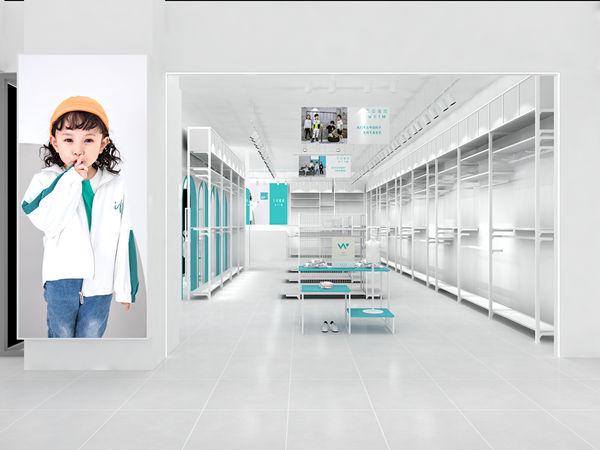 五岳童盟童裝店鋪展示