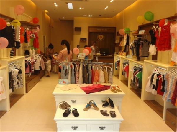 米芝兒童裝店鋪展示