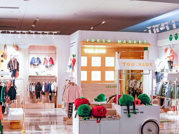 田果果童裝店鋪展示