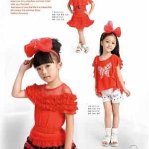 时尚韩版童装---A100礼品童装