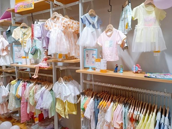 米拉米諾童裝店鋪展示